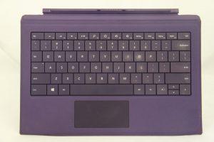 Bàn phím surface pro 3 màu tím nhập mỹ