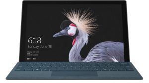 Surface Pro 2017 Intel Core M Ram 4Gb SSD 128GB