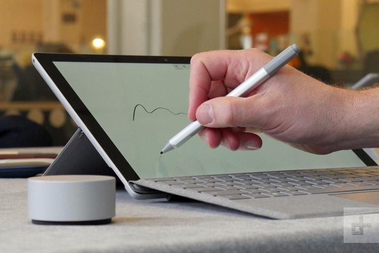 Microsoft Surface Pro và Surface Pen 2017
