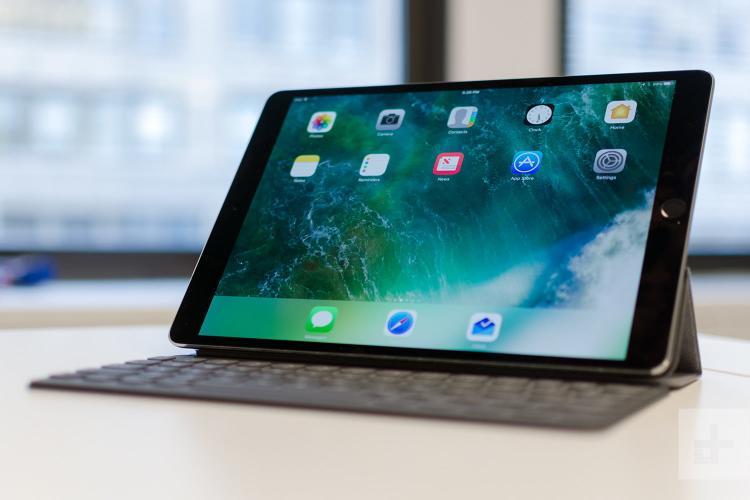 apple ipad pro 10 5 xem lại màn hình trên góc