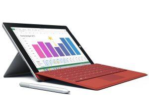 Surface 3 – RAM 2GB / SSD 64GB / Intel Atom X7