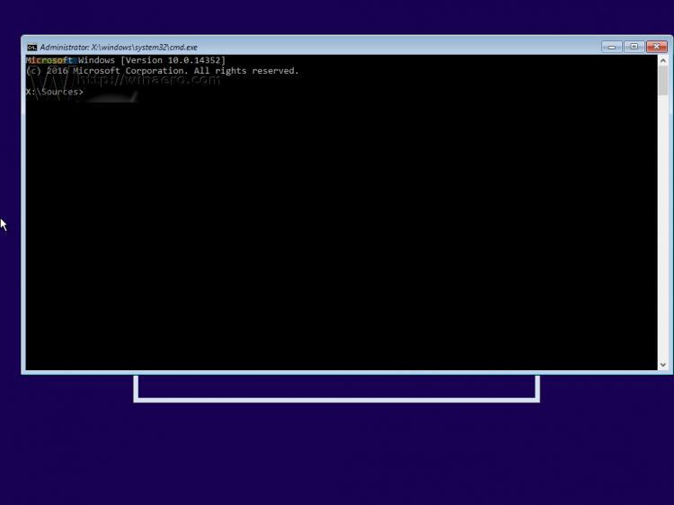 mở cửa sổ Command Prompt