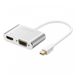 Cáp Mini DisplayPort To HDMI + VGA Ugreen Chính Hãng