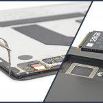 Bên trong Surface Pro X: rất dễ sửa chữa, SSD tháo ra cái một